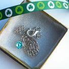 Catholic Jewelry, Our Lady of Knock Medal, Holy Water drop, Catholic Bracelet, Children's Bracelet, Religious Bracelet with Birthstone