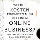 Die Kosten (m)eines Online Business - Fülle leben
