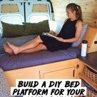 Build a DIY Bed Platform for Your Camper Van!