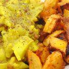 Dahl de lentejas y coliflor con patatas especiadas - Tasty details