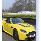 Box Canvas Print. Aston Martin V12 Vantage S Roadster, 2016,