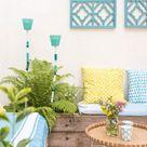 DIY - Garten Laternen für Pflanzkübel aus Blumentöpfen und Ästen - Leelah Loves