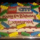 Lego City Cakes