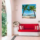 Wanddeko für einen gemütlichen Außenbereich: Wetterfeste Wandbilder
