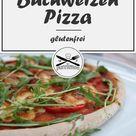 Glutenfreie Buchweizen Pizza - Knusprig, fluffig & lecker • purelimon