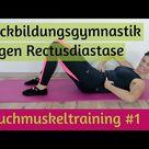 Bauchmuskeltraining 1 Rückbildungsgymnastik gegen Rectusdiastase