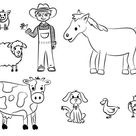 Free Printable Farm Animal Coloring Pages For Kids | Farm