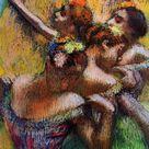 Four Dancers, c.1902 - Edgar Degas - WikiArt.org