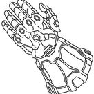Infinity Gauntlet Coloring Pages - Free Printable Coloring Pages for Kids