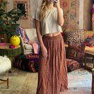 Skirt-In-A-Bag|Mauve Floral