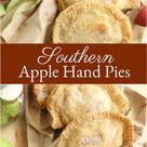BEST Apple Hand Pies (homemade apple pie filling)
