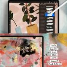 Gouache for Procreate, Watercolor Brush Procreate, Paint Brushes Procreate, iPad Pro Brushes, Digita