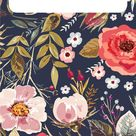 Fall Floral Wallpaper for iPhone