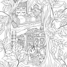 Hollow - Printable Adult Coloring Page from Favoreads (Coloring book pages for adults and kids, Coloring sheets, Colouring designs)