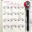 Bullet Journal Ideas: 25+ Things To Include In Your Bullet Journal - Meercai