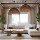 2 Homes in Mediterranean Rustic Chic