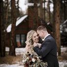 Intimate Winter Wedding Elopement Bend, OR   Five Pine Lodge