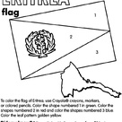 Eritrea Flag Flag Coloring Pages Coloring Pages Flag