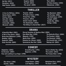 Can you pick just one?  Event Horizon still ranks Top Horror to me
