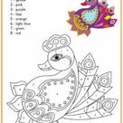 Rangoli Colour by Number