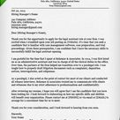 Paralegal Cover Letter Example & Writing Tips