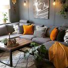 Zwei Trendfarben 2021- ultimatives Grau und leuchtendes Gelb frischen das Interieur auf - Fresh Ideen für das Interieur, Dekoration und Landschaft
