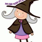 Pin the Nose on the Witch Game | Woo! Jr. Kids Activities : Children's Publishing