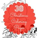 30 Christmas Coloring Pages for Free