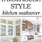 Farmhouse Style Kitchen Makeover – Reveal