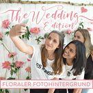 DIY Floraler Fotohintergrund