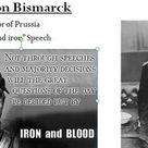 Otto von Bismarck Blood and Iron Speech Worksheet and Notes