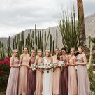 A Colorful, Laid Back Wedding in the Hills Above Palm Springs