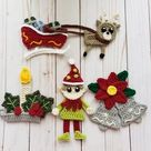 Ginger All the Way Applique Pack Crochet Pattern Only   Etsy
