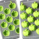 FRUIT HEARTS LIPS Ice Cube Makers | Love Chocolate Molds - Apple