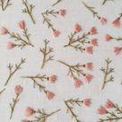 Wildflower embroidery pattern, Video tutorial, Floral embroidery, Beginner embroidery kit, Modern em