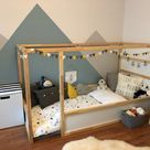 Mini bunting, grey yellow white felt garland. Reusable party bunting, party garland, birthday decoration, mini garland.  grey nursery decor.