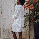 Yema Dress - White