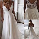 ?? Trendy simple wedding dress