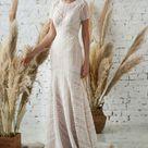 Bohemian Lace Dress | Boho Wedding Dress | Beach Wedding Dress | Romantic Dress | Quirky Wedding Dress | Modern Bridal Gown