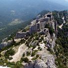 ChateauPeyrepertuse - Château de Peyrepertuse — Wikipédia