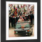 Framed Print. D Day Landings Commemoration  1994