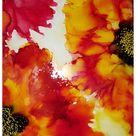 Show Your Bloomers #aiJune18 Alcohol Ink Art Challenge