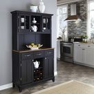 Hampton Server with Hutch 23 by homestyles