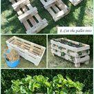 DIY Vertikale Erdbeerpaletten Pflanzer Anleitung – # Gartentipps für W … #an - Pallet Ideas