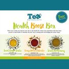Health Boost Tea Box