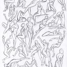 Figure drawing studies - poses by WMDiscovery93 on DeviantArt