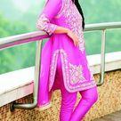 Sonakshi Sinha In pink Salwar Kameez
