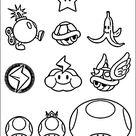Mario Bros Malvorlagen 17
