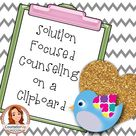 Solution Focused Counseling on a Clipboard