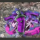 Fototapete Graffiti spray can 280 cm x 400 cm